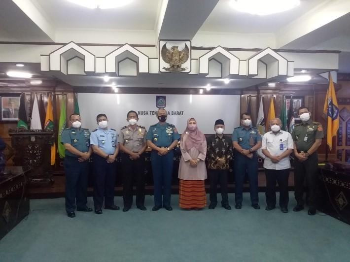 Kunjungan Kerja Daerah Setjen Dewan Ketahanan Nasional Ke Provinsi Nusa Tenggara Barat