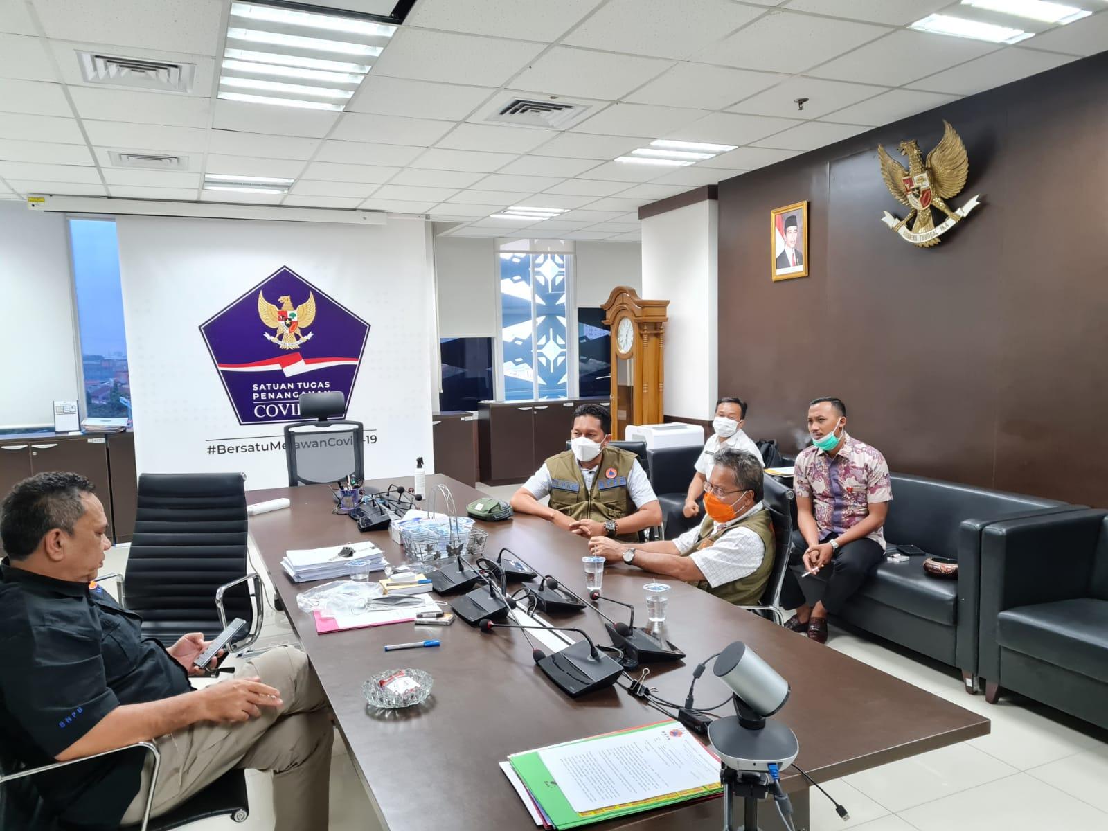 Koordinasi Pendampingan Percepatan Penyelesaian Permasalahan RTG Khususnya di Kabupaten Lombok Barat dan Lombok Utara